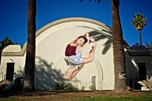 high school senior dance photographer los angeles